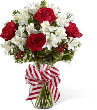 Flowers for usa - The Holiday Enchantment Bouquet flowers