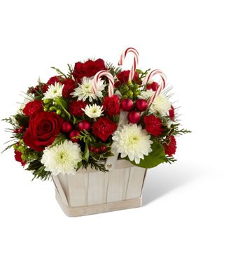 Flowers for usa - Candy Cane Lane Bouquet flowers