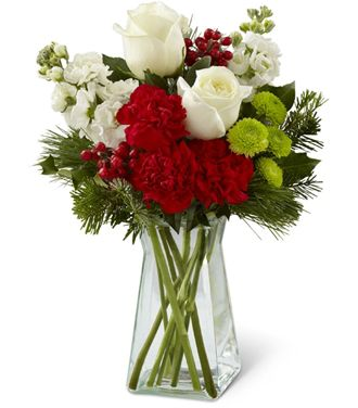 Flowers for usa - Christmas Peace Bouquet flowers
