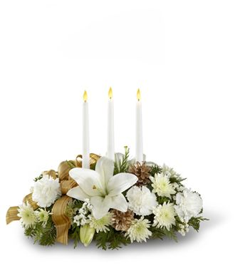 Flowers for usa - The Season's Glow Centerpiece flowers