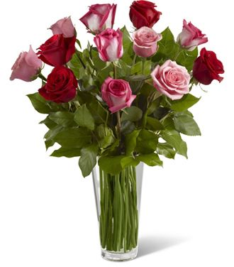Flowers for usa - The True Romance Rose Bouquet flowers