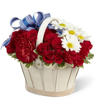 Flowers for usa - The Justice Basket flowers