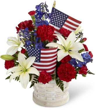 Flowers for usa - The American Glory Bouquet flowers