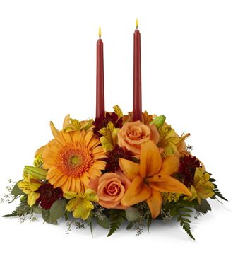 Flowers for usa - The Bright Autumn Centerpiece flowers