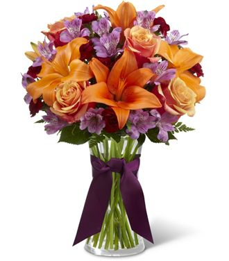 Flowers for usa - The Harvest Heartstrings Bouquet flowers