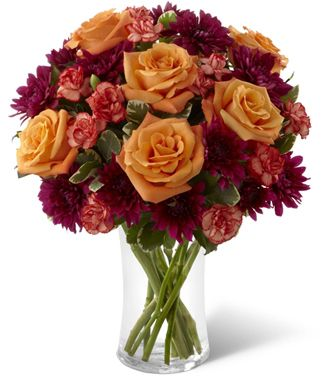 Flowers for usa - The Autumn Treasures Bouquet flowers