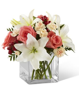 Flowers for usa - The Blushing Beauty Bouquet flowers