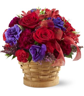 Flowers for usa - The Basket of Dreams  flowers
