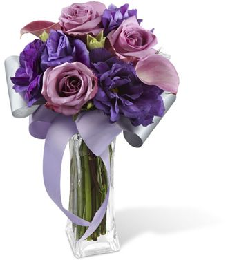 Flowers for usa - The Shades of Purple Bouquet flowers