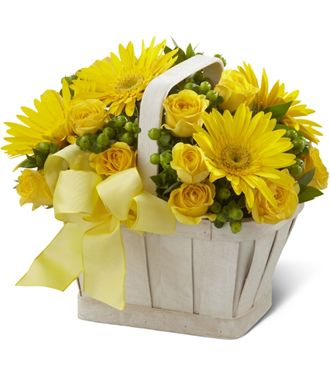 Flowers for usa - The Uplifting Moments Basket flowers