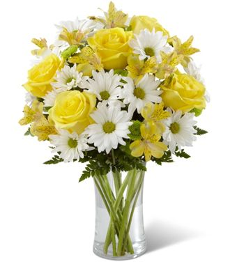 Flowers for usa - The Sunny Sentiments Bouquet flowers