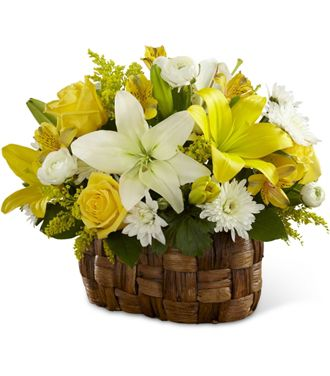 Flowers for usa - The Nature's Bounty Basket flowers