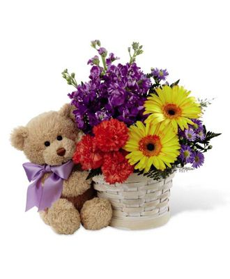 Flowers for USA - Best Year Basket flowers