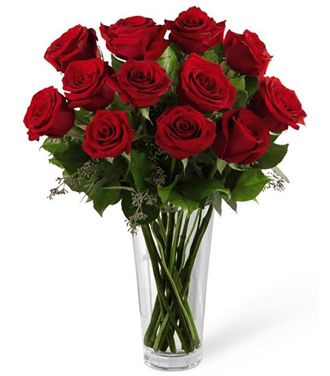 Flowers for usa - The Red Rose Bouquet flowers