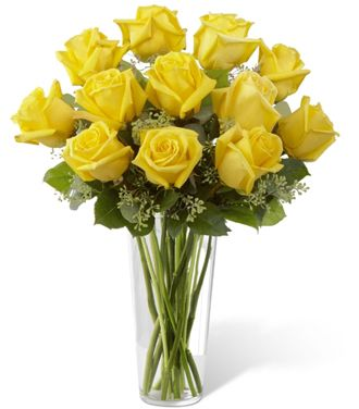 Flowers for usa - The Yellow Rose Bouquet flowers