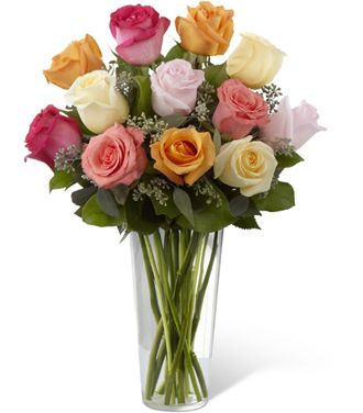 Flowers for usa - The Graceful Grandeur Rose Bouquet  flowers