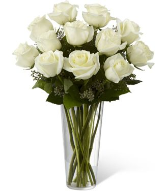 Flowers for USA - The White Rose Bouquet flowers