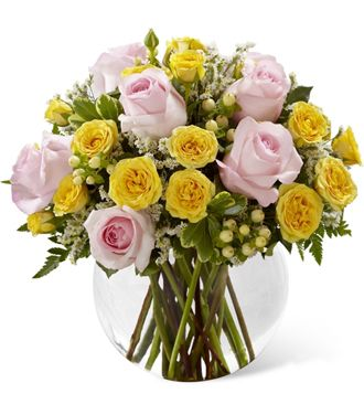 Flowers for usa - The Soft Serenade Rose Bouquet flowers
