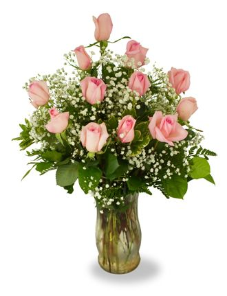 Flowers for USA - Precious Pink Roses flowers