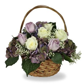 Flowers for usa - Life Celebration Basket flowers