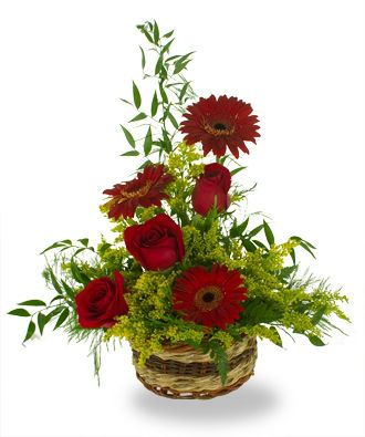 Flowers for USA - The Bold and Beautiful Arrangement flowers