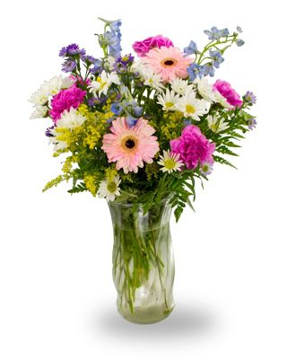 Flowers for usa - Mixed summery flowers flowers