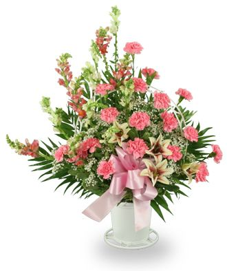 Flowers for usa - Pink and Lavender Basket flowers