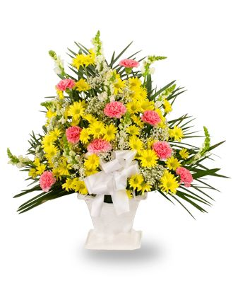 Flowers for usa - Traditional Floor Basket flowers