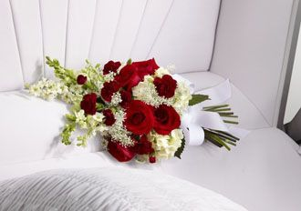 Flowers for usa - Forever in Our Hearts Casket Adornment flowers