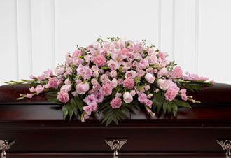 Flowers for usa - Sweetly Rest Casket Spray flowers