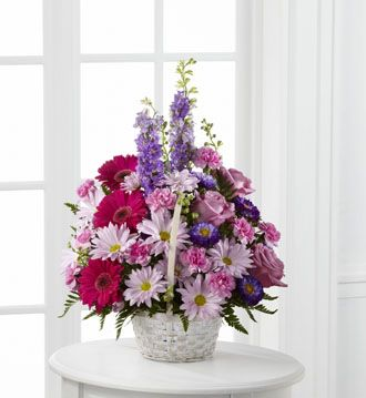 Flowers for usa - Pastel Peace Basket flowers