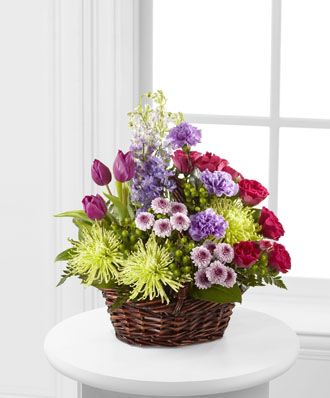 Flowers for usa - Truly Loved Basket flowers