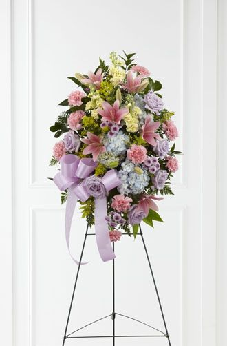 Flowers for USA - Blessings of the Earth Easel flowers