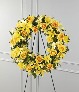 Flowers for usa - Ring of Friendship Wreath flowers