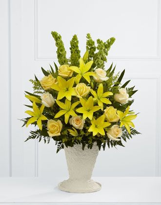 Flowers for usa - Golden Memories Arrangement flowers
