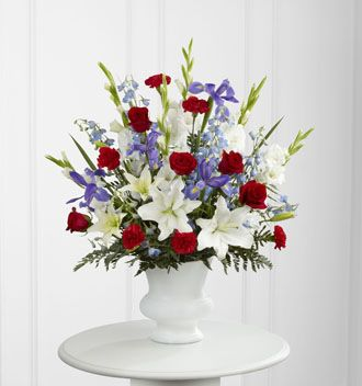 Flowers for usa - Cherished Farewell Arrangement flowers