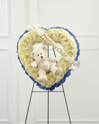 Flowers for usa - Precious Child Standing Heart flowers