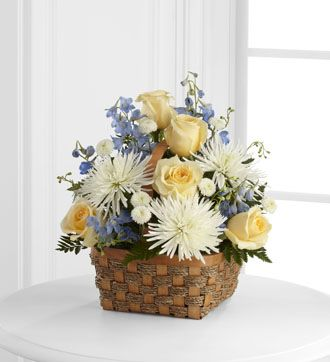 Flowers for usa - Heavenly Scented Basket flowers