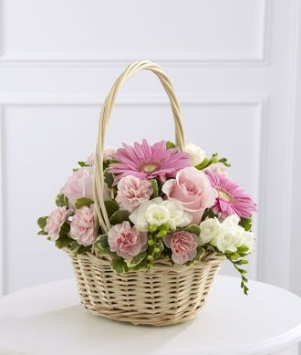 Flowers for usa - Enduring Peace Basket flowers