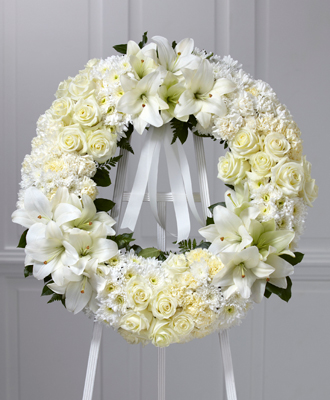 Flowers for usa - Wreath of Remembrance flowers