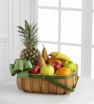 Flowers for usa - Thoughtful Gesture Fruit Basket flowers