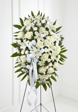 Flowers for USA - Exquisite Tribute Standing Spray flowers