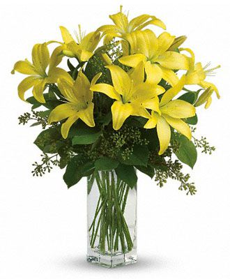 Flowers for usa - Lily Sunshine flowers