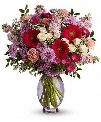 Flowers for usa - Perfectly Pleasing Pinks flowers