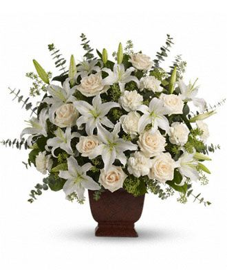 Flowers for usa - Loving Lilies and Roses Bouquet flowers