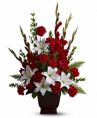 Flowers for usa - Tender Tribute flowers