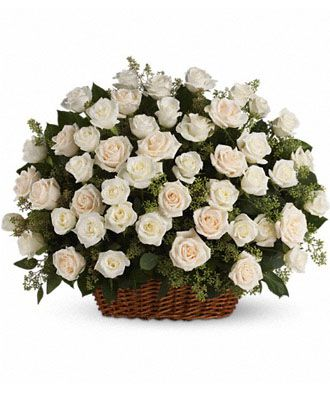 Flowers for usa - Bountiful Rose Basket flowers