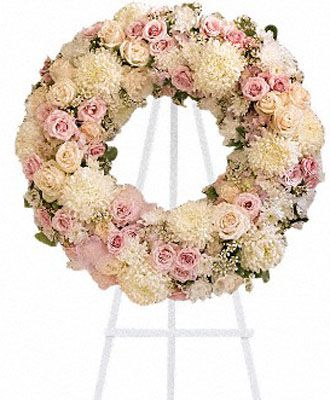 Flowers for usa - Peace Eternal Wreath flowers