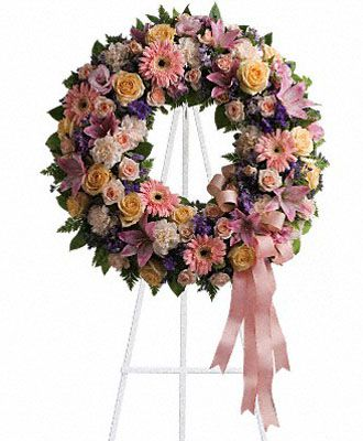 Flowers for usa - Graceful Wreath flowers