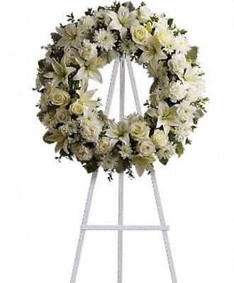 Flowers for USA - Serenity Wreath flowers